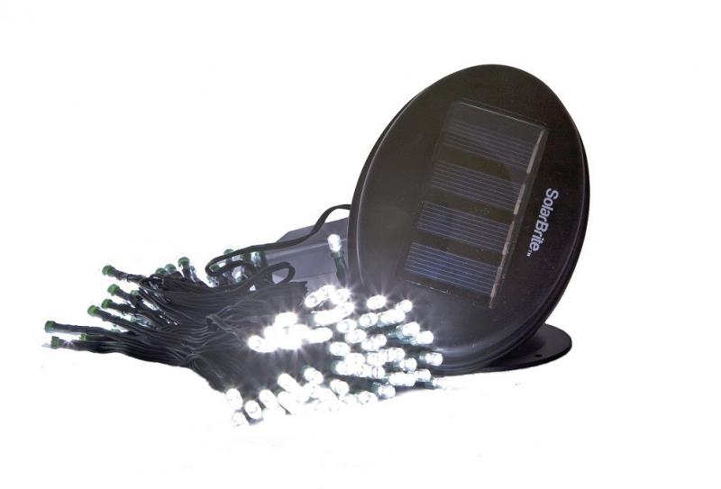 Solar Festive Light White 50 LED