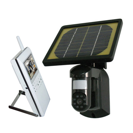 Solar Wireless Camera & LCD Display