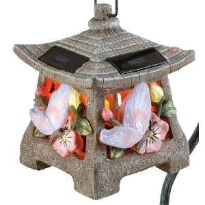 Solar Butterfly Pagoda Walk Light (SC95601)