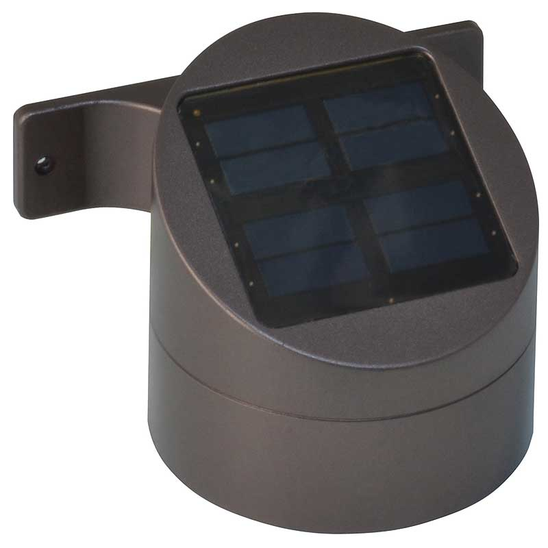 Solar Wall Mount Deck Sconce