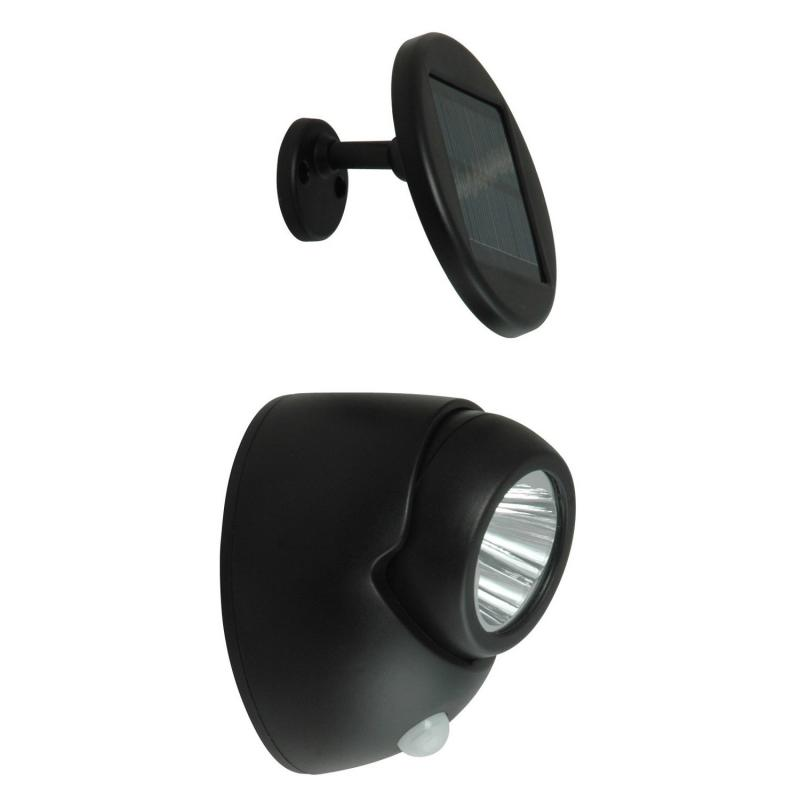 Solar Guardian Security Twin LED Spotlight with PIR Motion Sensor