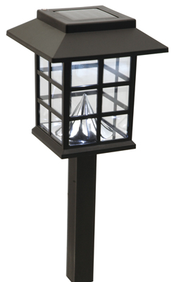 Solar Mission Post Lamp Light