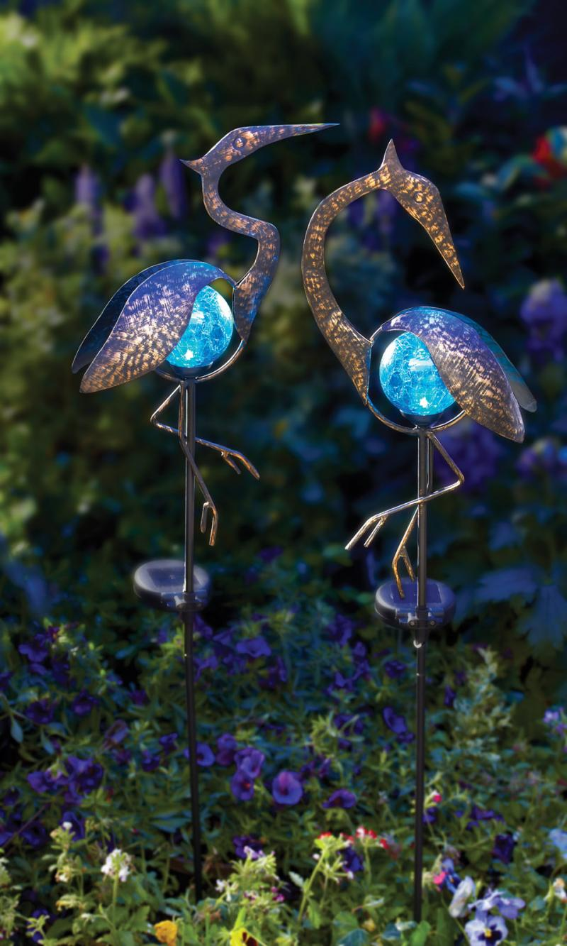 Solar Bird Stake Light
