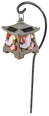 Solar Butterfly Pagoda Walk Light