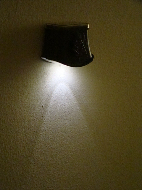 Solar Orlean Wall Light