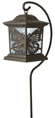 Solar Butterfly Walk Light