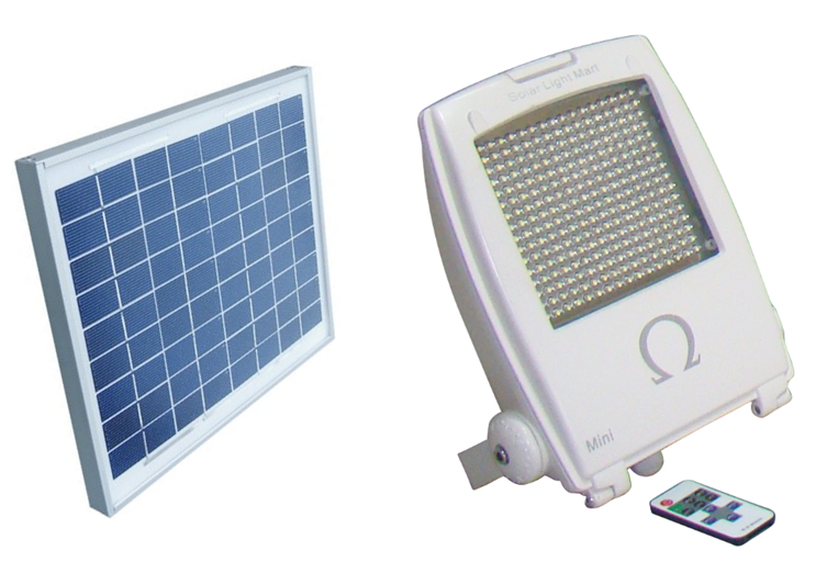 Mini Omega 2.0 Solar Flood Light