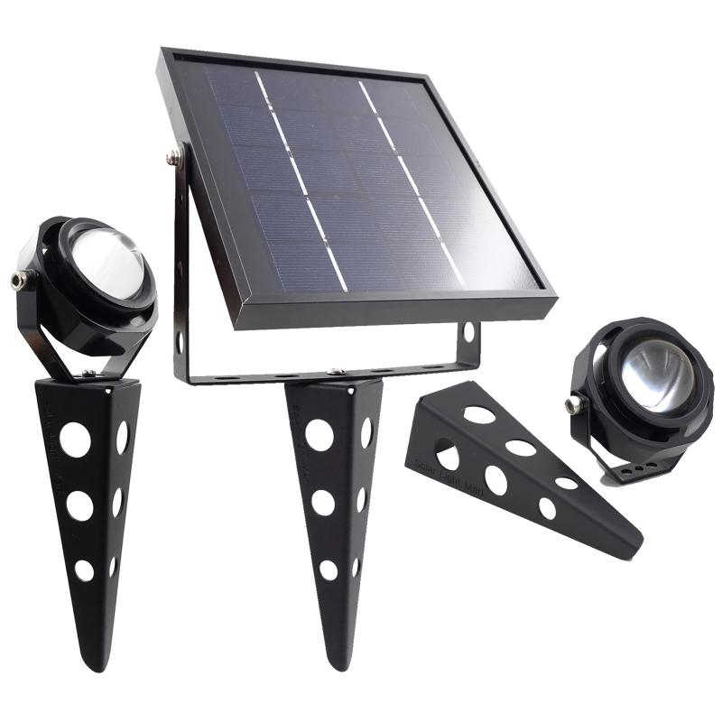 Mithos 50X Twin Solar Spotlight Set