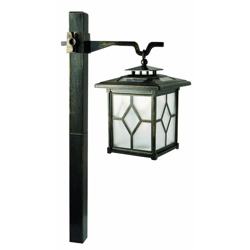 Solar Stainless Steel Pagoda Light