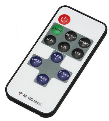 RF Remote Control With Dimmer