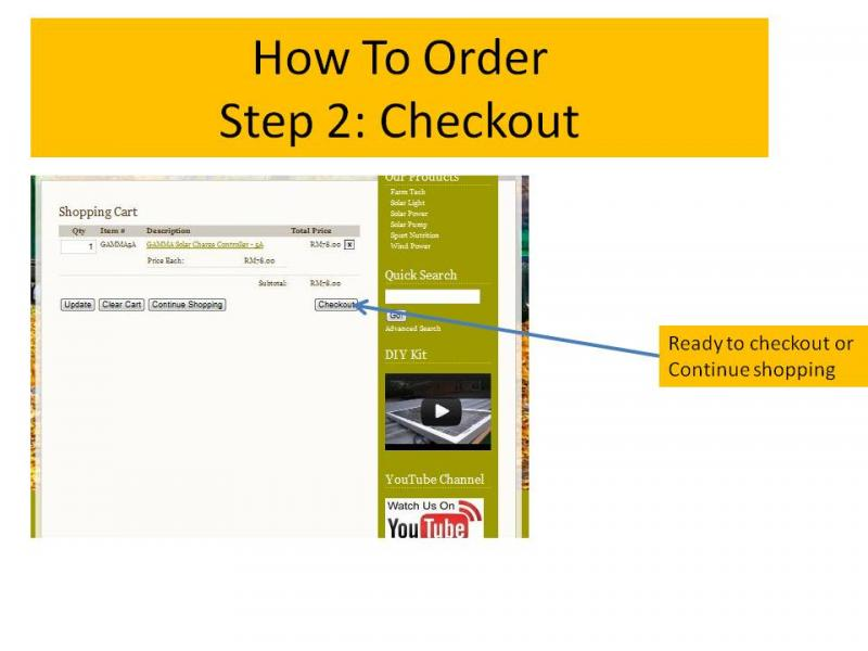 How to order 2