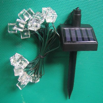 Solar Festive Light - Ice Cube