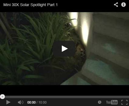 YouTube: Mini 30X Twin Solar Spotlight Part 1