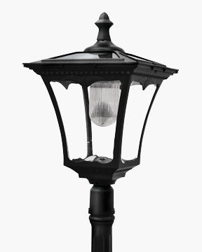 Cast-Aluminum Solar-Powered LED Streetlight
