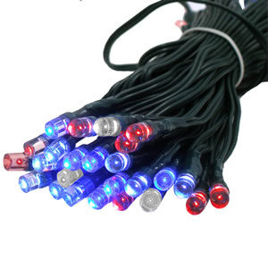 Solar Festive Light - 50 LED multicolor
